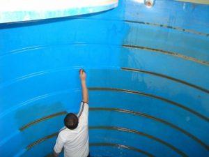 كشف تسربات خزانات المياه بجده